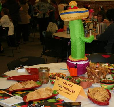 Spelling Bee 2008 Fiesta Decorations